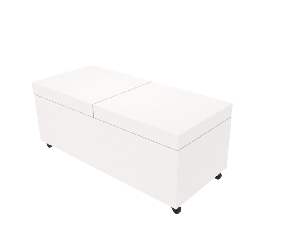 Box Mdf Valkoinen.