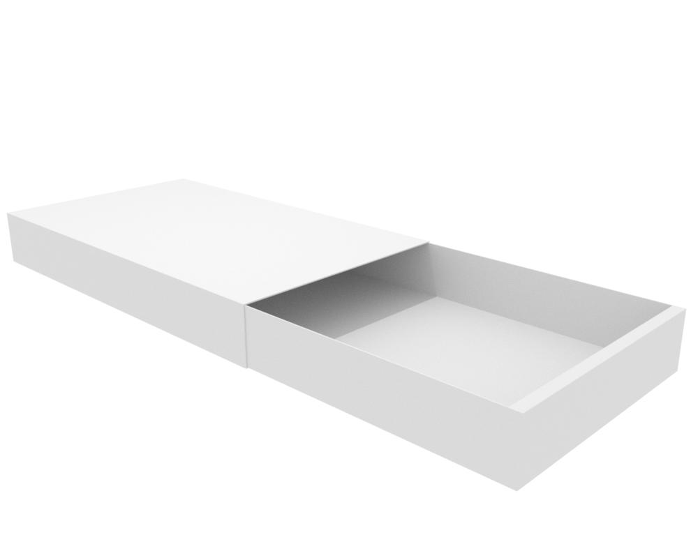 Matchbox S Valkoinen Auki.